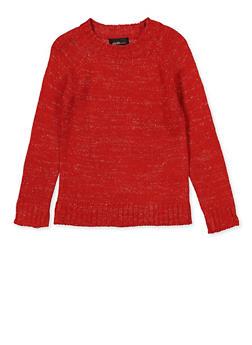 Girls 4-6x Lurex Sweater - 3624038340057