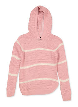 Girls 7-16 Hooded Sweater - 3625038340070