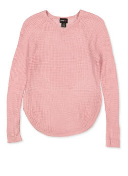 Girls 7-16 Caged Side Sweater - 3625038340076
