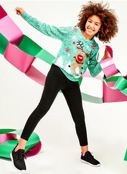 Girls 7-16 Believe Unicorn Christmas Sweater - 3625038340085