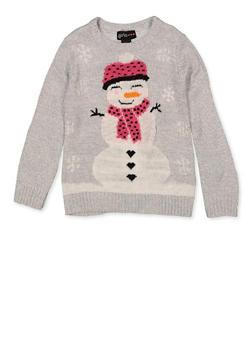Girls 7-16 Snowman Sweater - 3625038340086