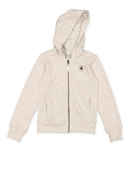 Girls 7-16 Converse Zip Up Sweatshirt - 3625070340002