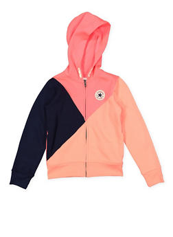 Girls 7-16 Converse Color Block Sweatshirt - 3625070340005