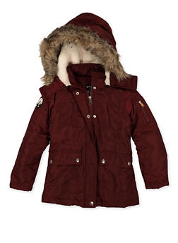 Girls 7-16 Hooded Two Pocket Jacket - 3627051060059