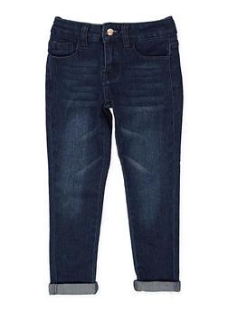 Girls 4-6x Whisker Wash Jeans - 3628056720026