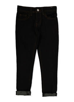 Girls 4-6x Rolled Cuff Jeans | 3628056720038 - 3628056720038