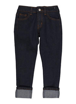 Girls 4-6x Rolled Cuff Jeans | 3628056720039 - 3628056720039