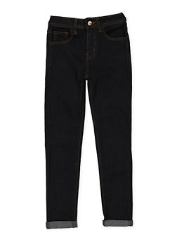 Girls 7-16 Dark Wash Skinny Jeans - 3629056720011