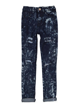Girls 7-16 Acid Wash Skinny Jeans - 3629056720021