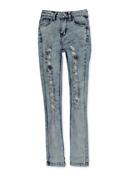 Girls 7-16 Ripped Skinny Jeans | 3629056720040 - 3629056720040