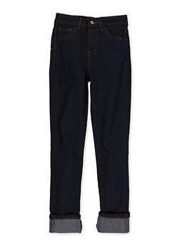Girls 7-16 Roll Cuff Skinny Jeans - 3629056720045