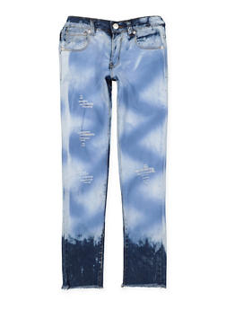 Girls 7-16 Cloud Wash Skinny Jeans - 3629063400039