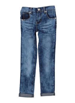 Girls 7-16 Whisker Wash Jeans - 3629063400055