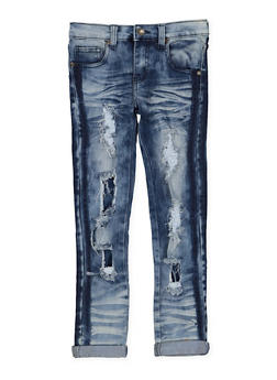 Girls 7-16 Rip and Repair Jeans - 3629063400058