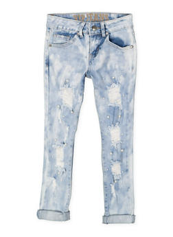 Girls 7-16 VIP Faux Pearl Jeans - 3629065300092