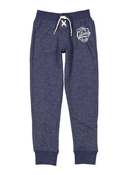 Girls 7-16 Graphic Lace Up Sweatpants - 3631023130001