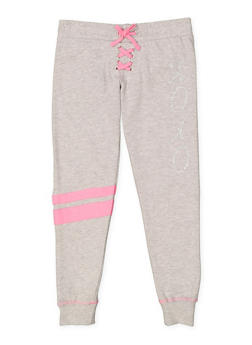 Girls 7-16 XOXO Graphic Sweatpants - 3631061950013