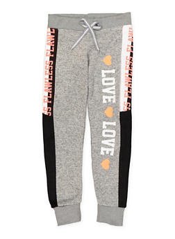 Girls 7-16 Graphic Sweatpants - 3631063400102