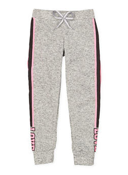 Girls 7-16 Love Graphic Joggers - 3631063400158
