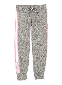 Girls 7-16 Love Graphic Joggers | 3631063400158 - 3631063400158