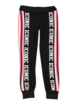 Girls 7-16 Iconic Graphic Sweatpants - 3631063400177