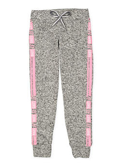 Girls 7-16 Love Graphic Joggers - 3631063400209
