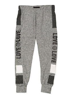 Girls 7-16 Graphic Activewear Joggers - 3631073270002
