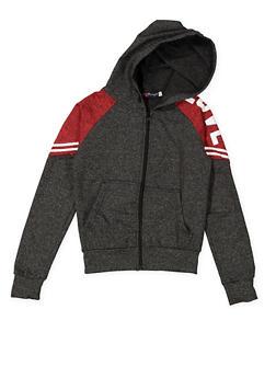 Girls 7-16 Love Graphic Activewear Sweatshirt - 3631073270006