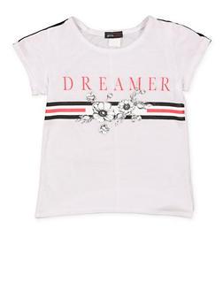 Girls 7-16 Dreamer Graphic T Shirt - 3635029890029