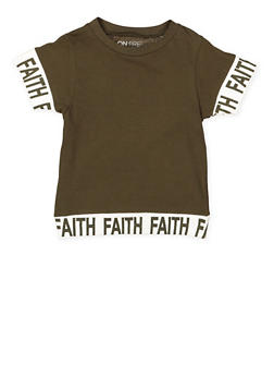 Girls 7-16 Faith Graphic Tee - 3635033870134