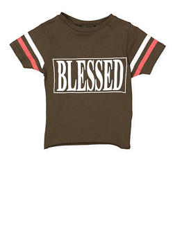 Girls 7-16 Blessed Graphic Tee - 3635033870148