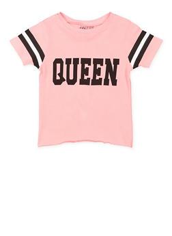 Girls 7-16 Queen Graphic Tee - 3635033870149