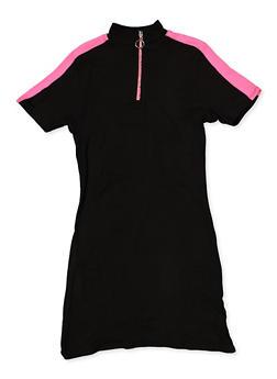 Girls 7-16 Color Block T Shirt Dress - 3635051060120