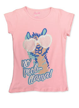 Girls 7-16 Animal Graphic Tee - 3635054730015