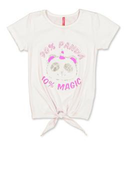 Girls 7-16 Panda Magic Graphic Tee - 3635066590285