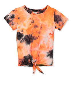 Girls 7-16 Tie Dye Soft Knit Top - 3635066590350