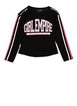 Girls 7-16 Girl Empire Tee - 3635073990068