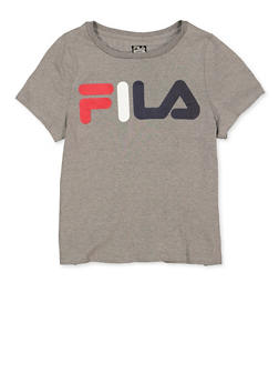 Girls 7-16 Fila Tee | Heather - 3635075650001