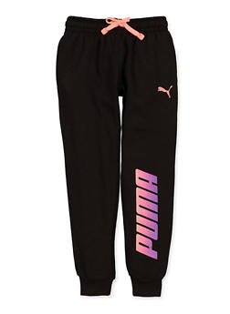 Girls 7-16 Puma Fleece Joggers - 3639075230015