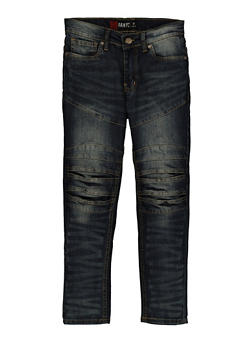 Girls Stitched Knee Jeans - 3720023130154
