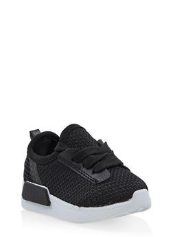 Girls 6-11 Mesh Athletic Sneakers - 3736062720043