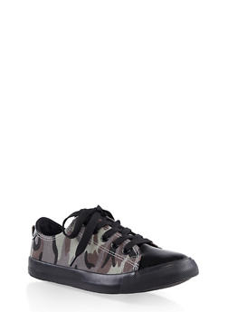 Girls 12-4 Lace Up Sneakers - 3736062720046