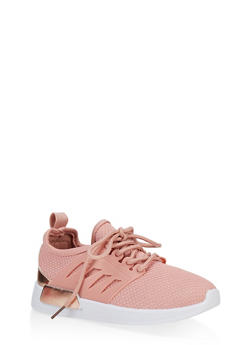 Girls 12-4 Athletic Knit Sneakers - 3736062720070