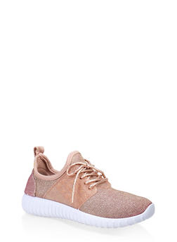 Girls 12-4 Athletic Lace Up Sneakers - 3736062720073