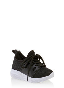 Girls 6-11 Lace Up Athletic Sneakers - 3736062720082