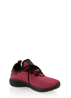 Girls 12-4 Knit Athletic Sneakers | 3736062720099 - 3736062720099