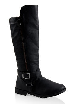 Girls 11-4 Tall Riding Boots - 3736064790015