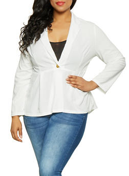 Plus Size Blazers for Women
