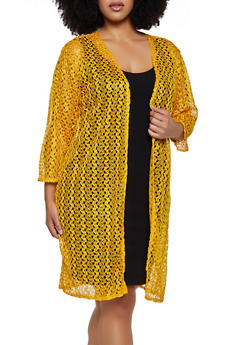 Plus Size Lace Duster | 3802062705326 - 3802062705326