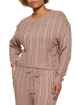 Cheap Plus Size Sweaters and Cardigans